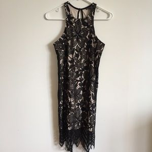 NWT Express Lace Dress Party Cocktail